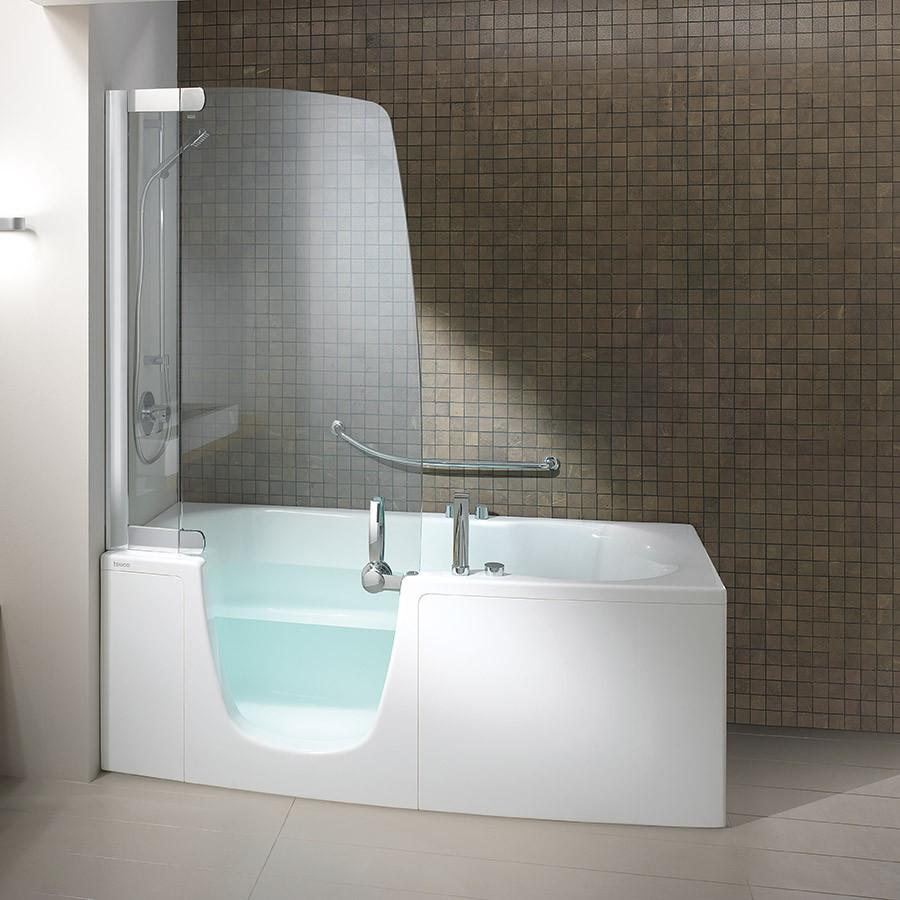 Spa badekar 382 J med indgangdør for nem adgang.