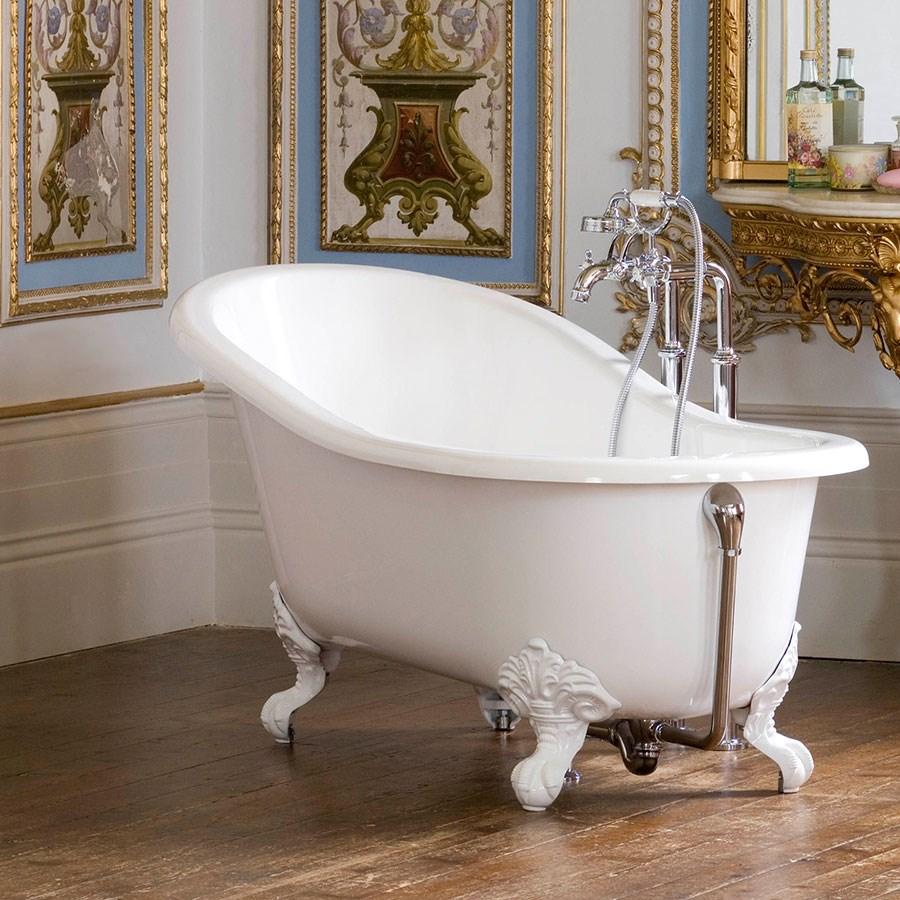 shropshire fritst ende badekar p hvide l vef dder made in england. Black Bedroom Furniture Sets. Home Design Ideas