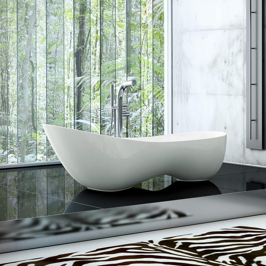 badekar design Cabrits   Fritstående badekar i nyt og anderledes minimalistisk design badekar design