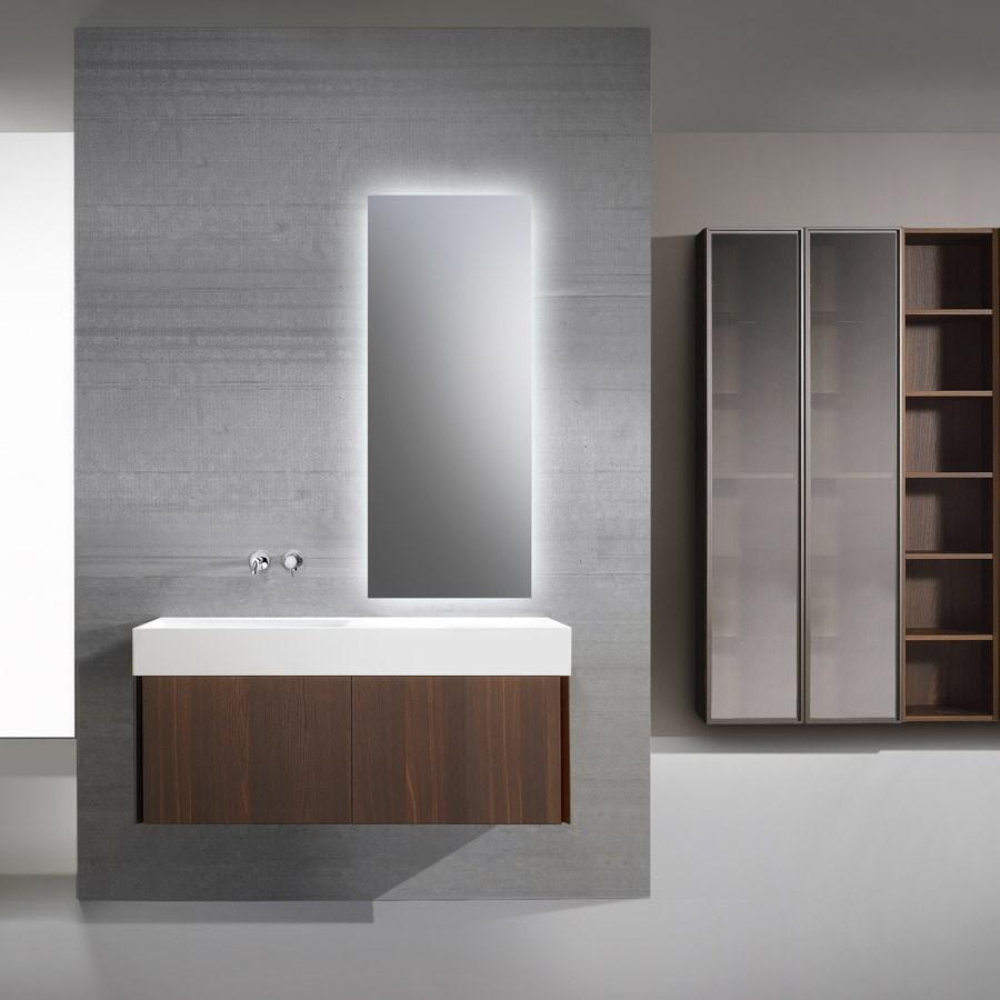badeværelsesmøbler træ Eksklusivt badeværelsesmøbel S40 i massivt Ege træ badeværelsesmøbler træ