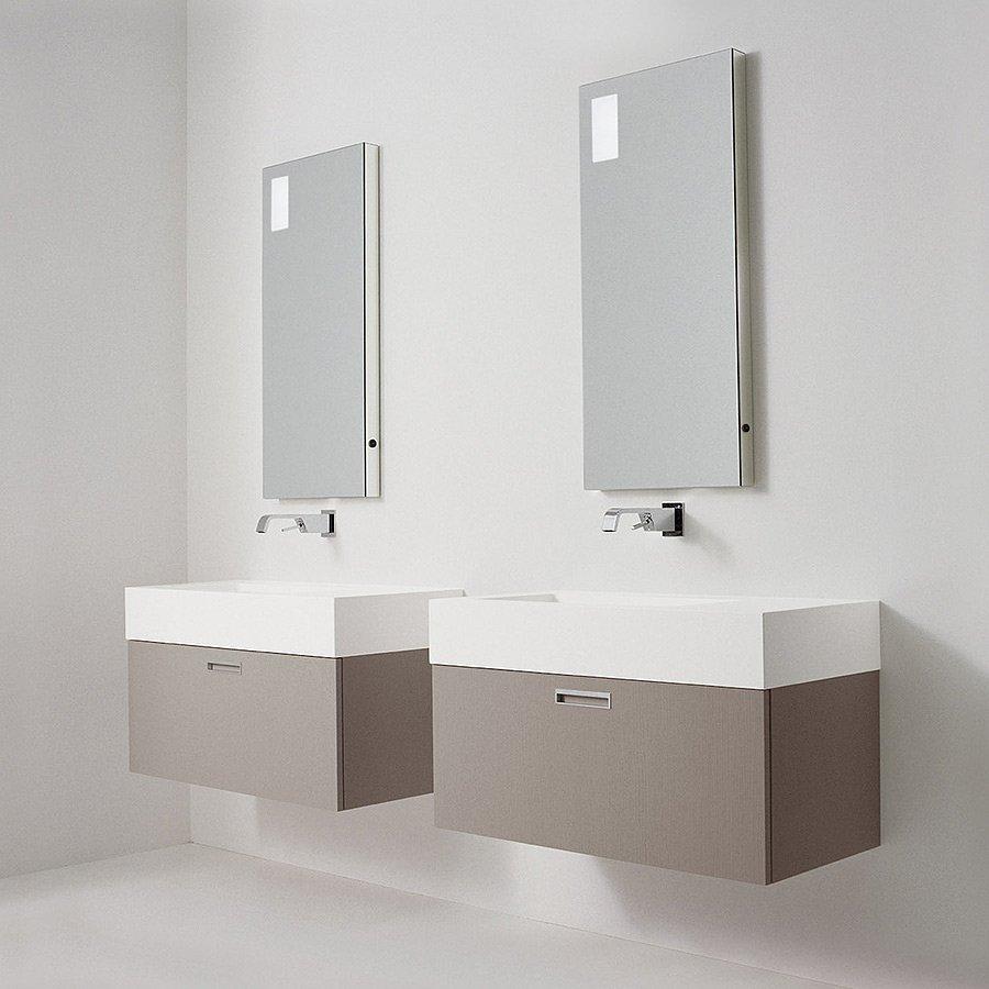 Ultramoderne Trend 6004 - Badeværelsesmøbel med håndvask produceret i Italien WT-61