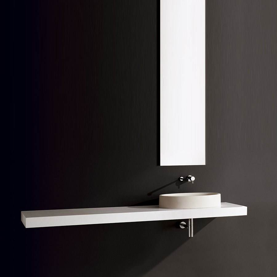 Design håndvaske på bordplade -Firkantede håndvaske på bordplade ...
