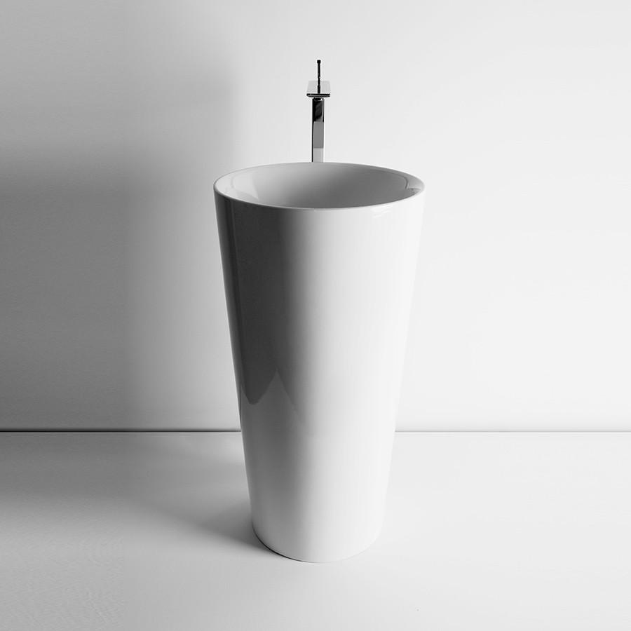 fritstående håndvask White IL   Elegant fritstående håndvask i smukt design lavet i Italien fritstående håndvask