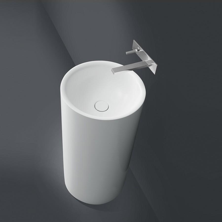 fritstående håndvask Rotondo I   Smuk fritstående håndvask i et flot minimalistisk design fritstående håndvask