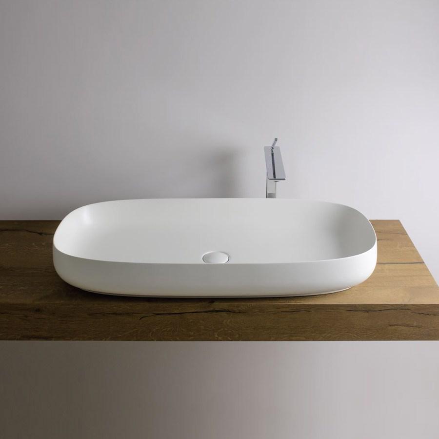 håndvask ovenpå bordplade Ovale håndvaske på bordplade i mange forskellige designs | Design4home håndvask ovenpå bordplade