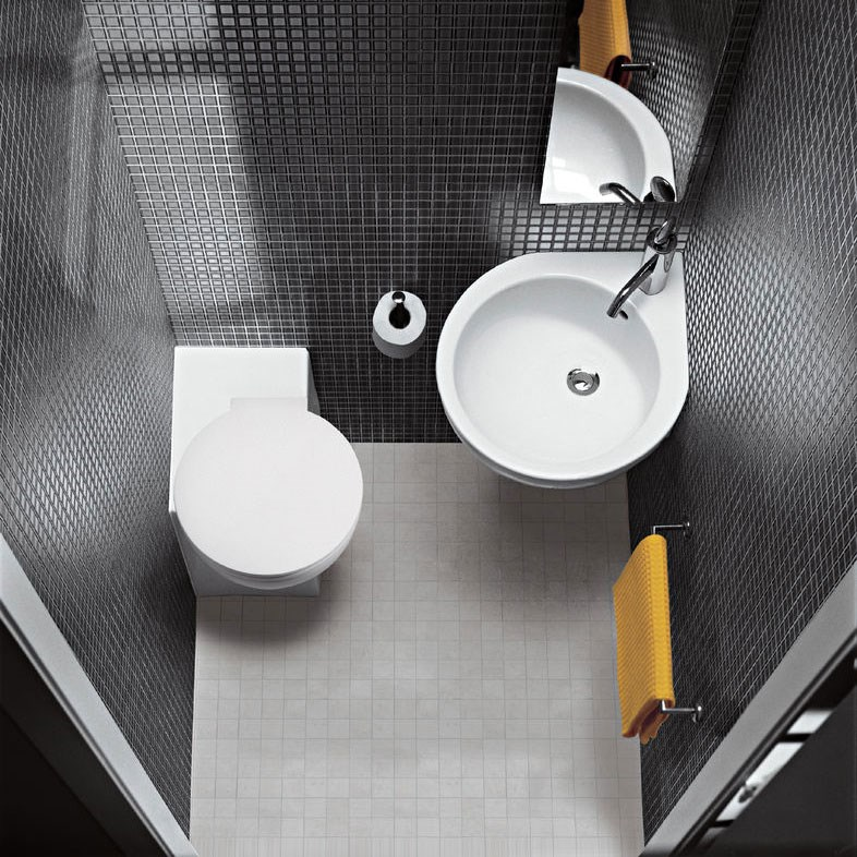 Mini toiletskål til det lille toilet  Design4home