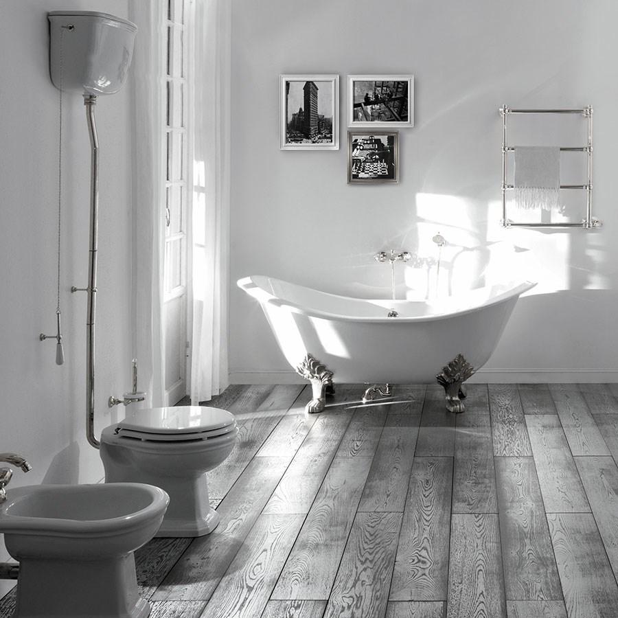 Højtskyl toilet Imperio i klassisk stil made in Italy