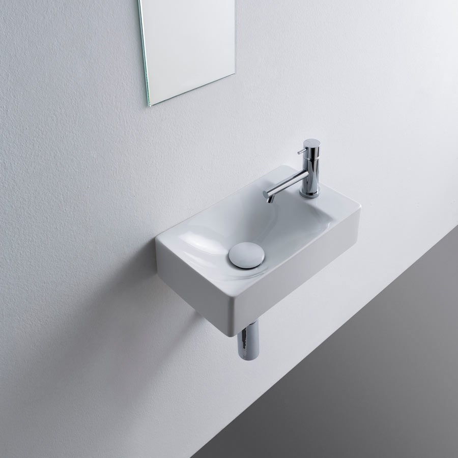 lille håndvask Molli   lille håndvask i flot Italiensk design. Made in Italy lille håndvask