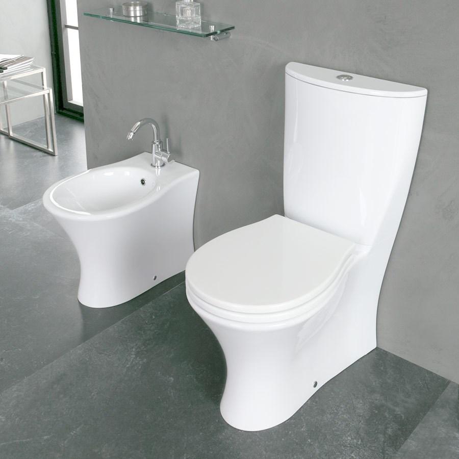 væghængt toilet cisterne dybde