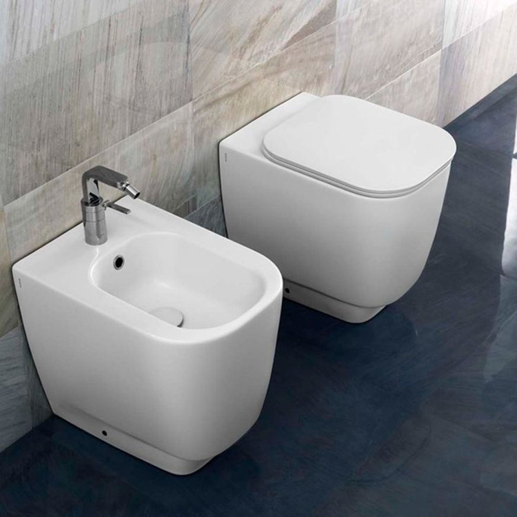 Toilet  Fusion Q Gulvmodel YXBY