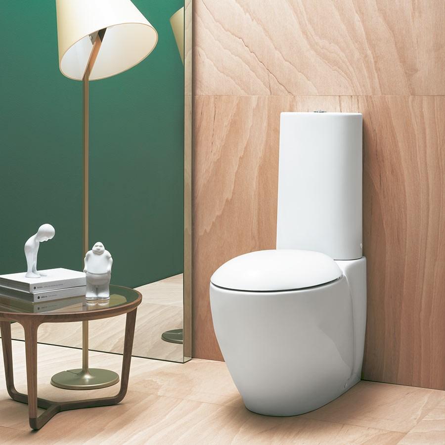 Ungdommelige Designer toilet Clas+ til gulv fra Italien PK55