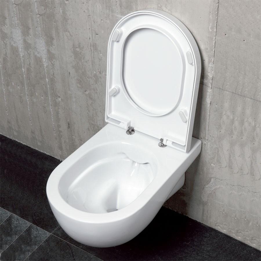 wc væghængt