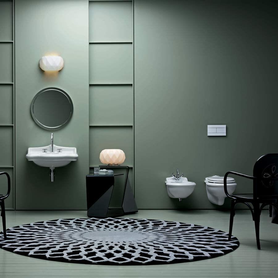 Toilet væghængt Kent Jubilæum i klassisk stil. Made in Italy