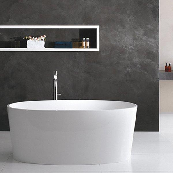 badekar design Badekar fritstående Ios i minimalistisk design badekar design